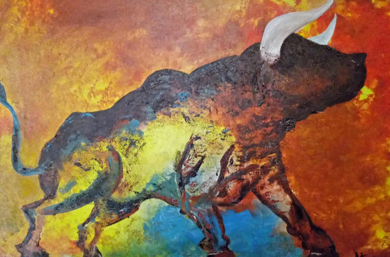 Atignas Art - Raging bull